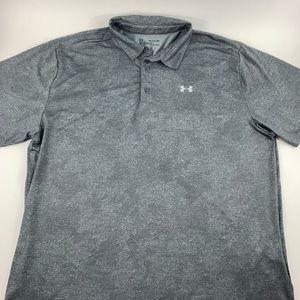 Under Armour Short Sleeve Heat Gear Polo Shirt 3XL